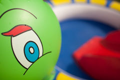 Child pool close up Royalty Free Stock Images