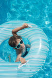 Child pool float Royalty Free Stock Photography