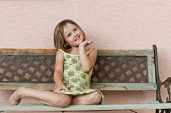 Child portrait Royalty Free Stock Photo