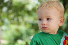Child portrait. Stock Image