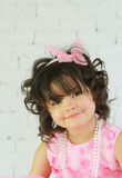 Child posing Royalty Free Stock Photo