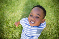 A child posing Stock Images