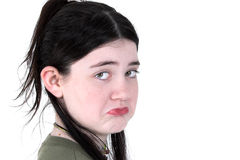Child Pouting Royalty Free Stock Photography