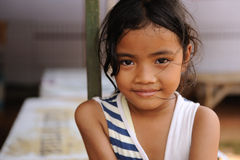Child in Poverty. A street child from Jakarta, Indonesia royalty free stock image