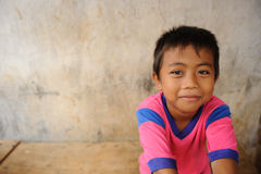 Child in Poverty. A street child from Jakarta, Indonesia stock photos