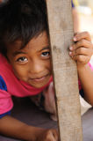 Child in Poverty. A street child from Jakarta, Indonesia stock photography
