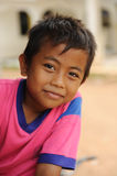 Child in Poverty. A street child from Jakarta, Indonesia royalty free stock photos
