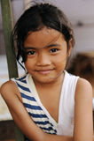 Child in Poverty. A street child from Jakarta, Indonesia royalty free stock photo