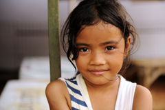 Child in Poverty. A street child from Jakarta, Indonesia stock photo