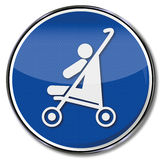 Child in a pram Royalty Free Stock Photo