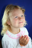 Child praying. Stock Photography