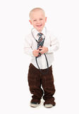 Child Pretending to be a Doctor Stock Images
