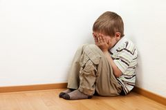 Child punishment Royalty Free Stock Photos