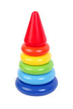 Child Pyramid rainbow Stock Images