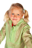 Child in rain coat Stock Photos