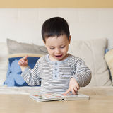 Child reading Stock Photography