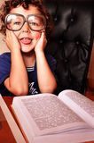 Child reading Stock Image