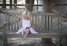 Child reading royalty free stock image