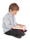 Child reading book Stock Images
