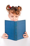 Child reading book Royalty Free Stock Images