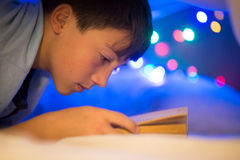 Child reading Stock Photos