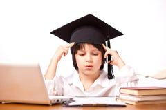 Child receives education Stock Photos