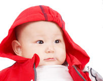 Child in red Royalty Free Stock Photo
