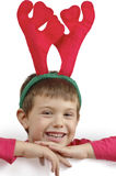 Child reindeer Stock Image