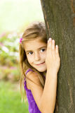 Child respects the environment Royalty Free Stock Photography