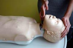 Child resuscitation procedure Stock Image