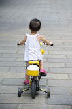 Child Ride bicycle Royalty Free Stock Photo