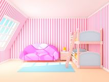 Child room soft Royalty Free Stock Photography