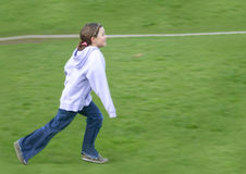 Child running Royalty Free Stock Images