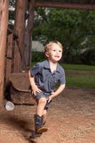 Child Running Stock Photography