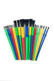 Child's Art Brushes. Stock Image