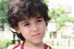 Child s Ausdruck Stockfotografie