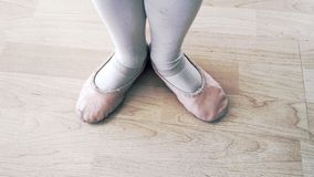 Childs ballet feet Royalty Free Stock Photography