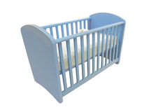 Child's bed Stock Images