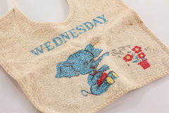 Child's bib Royalty Free Stock Images