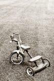 Child's bicycle stock image