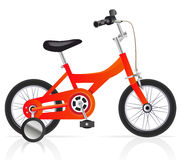 Child's bike Stock Images