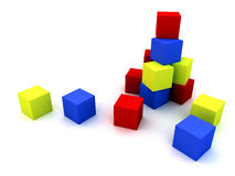 Child's blocks Stock Photography