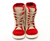 Child's boots Royalty Free Stock Image