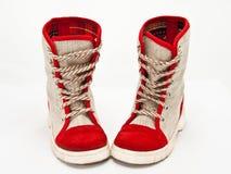 Child's boots Stock Photo