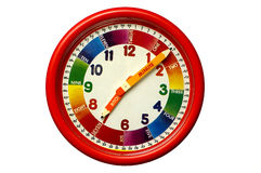 Child's Clock stock photography