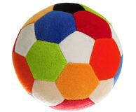 Child's Colorful Foam Ball Royalty Free Stock Photo