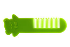 Child's comb isolated on white background Stock Photo