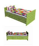 Child's Day bed Royalty Free Stock Images