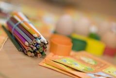 Child's desk Stock Images