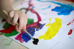 Child's drawing Royalty Free Stock Photos